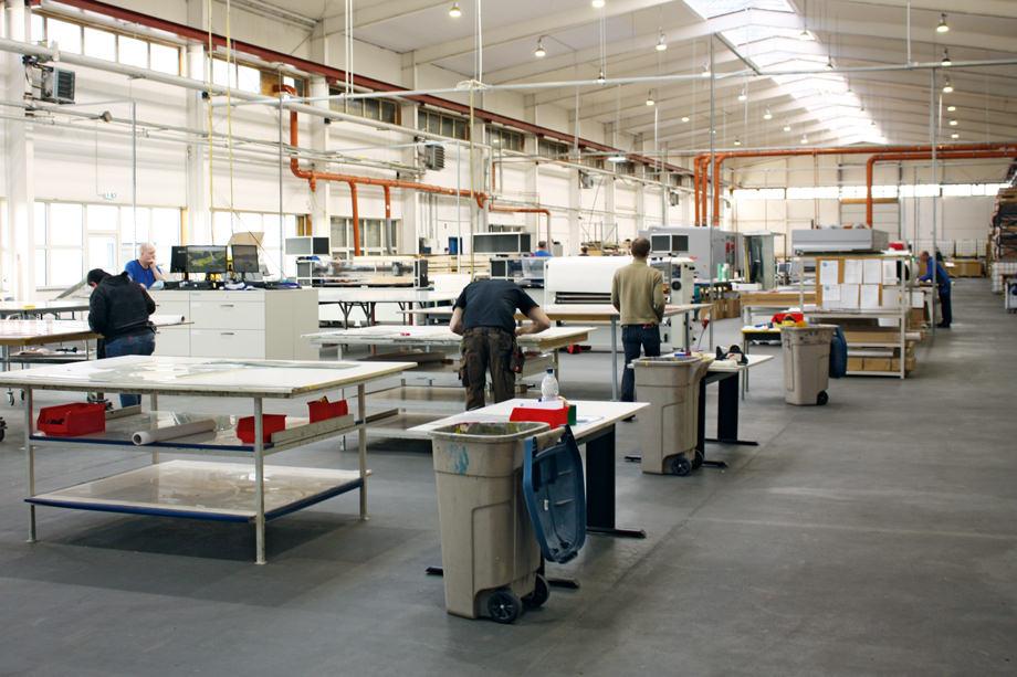 Druckformherstellung in Greven