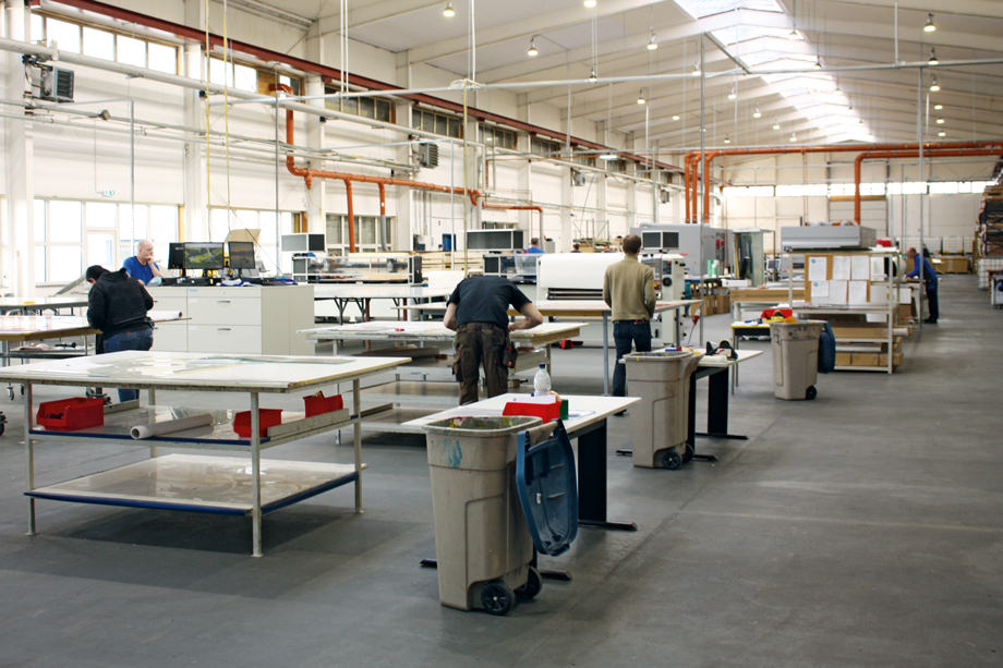 Print form manufacturing in Greven (MV)